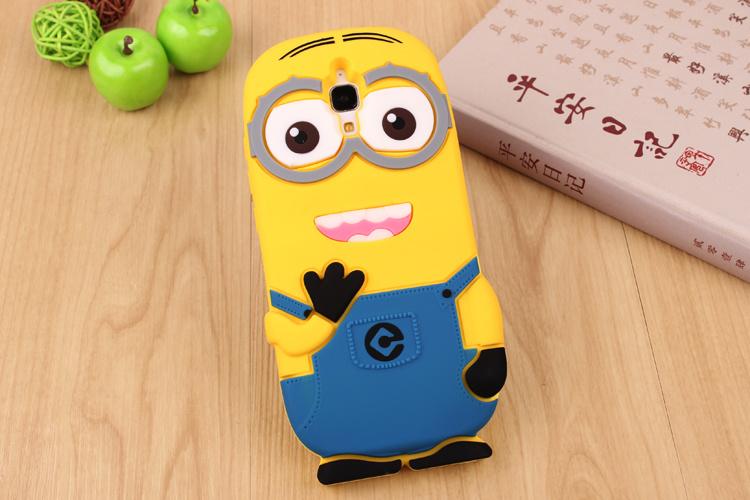 小米4小黄人卡通可爱手机壳