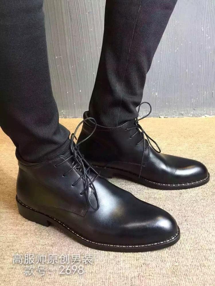 【高邦黑皮鞋】-无类目-高帮鞋