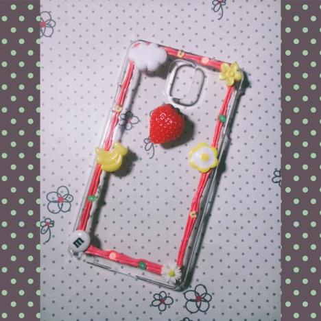 【边框款 diy奶油胶手机壳】-无类目-百货