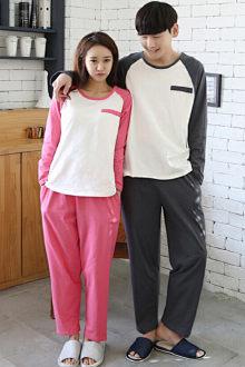Đồ ngủ đôi cotton nguyên chất, kiểu dáng Nhật Hàn đặc sắc