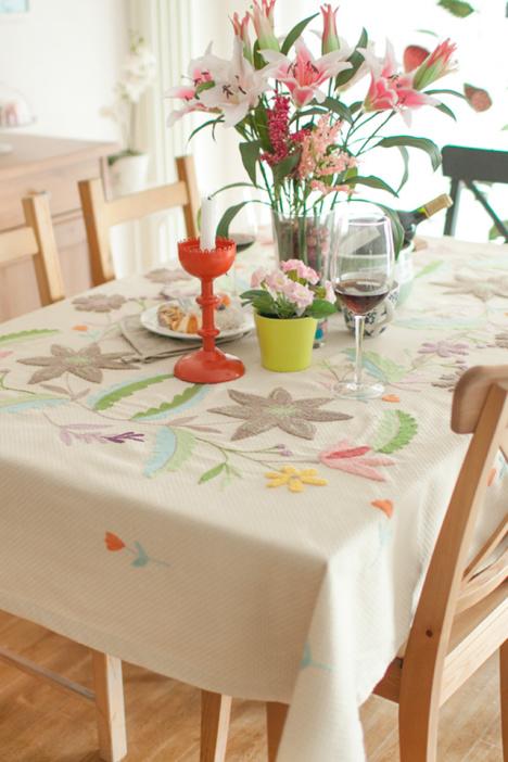 欧式桌布,欧式餐桌布