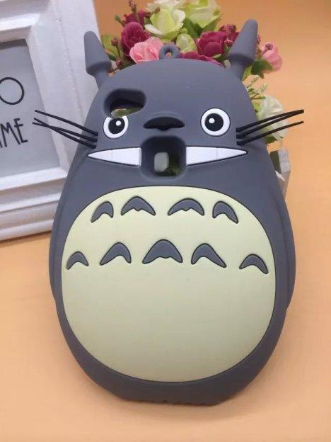 【vivox6plus手机壳可爱卡通龙猫防摔送挂绳手机硅胶