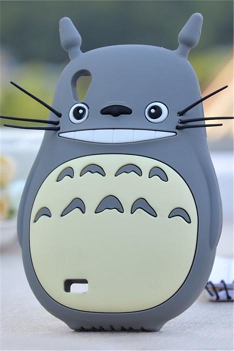 【龙猫vivoy11/y11t手机壳可爱卡通防摔手机硅胶套】