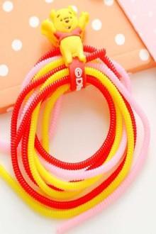 9元包邮]手机数据线保护套耳机线保护线保护绳绕线器$4.9-耳机壳图片