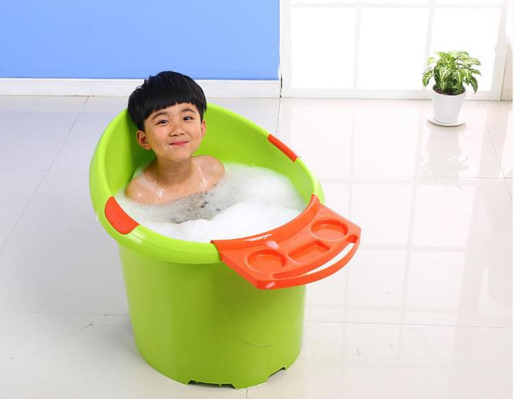 【超大号婴儿浴盆宝宝洗澡盆加厚儿童洗澡桶