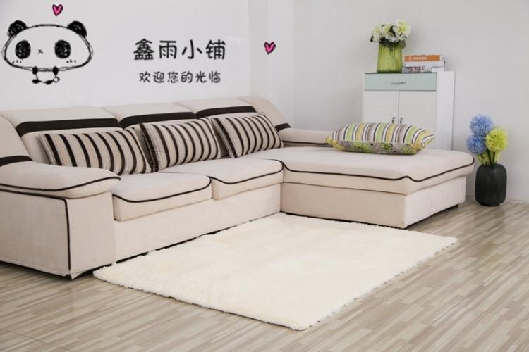 【茶几地毯 客厅卧室沙发欧式加厚丝毛地毯定制床边