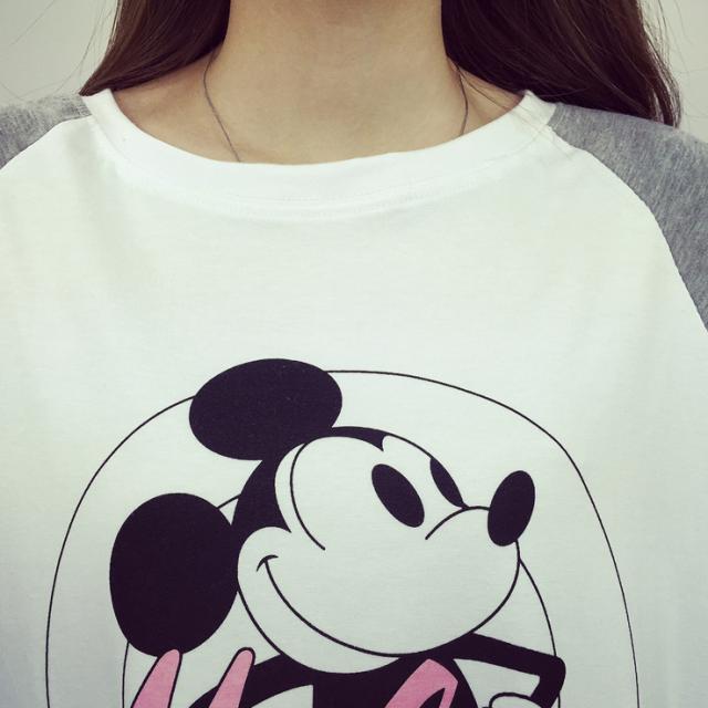 【韩版女装(多款)数字卡通动物图案上衣t恤