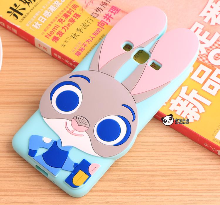 【疯狂动物园三星g5308朱迪兔子手机壳】-配饰-3c