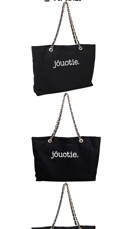 链条2016新款帆布韩版大包单肩包女包包包包手提包购物袋昊洋酒业图片
