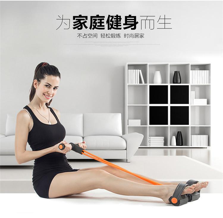 【家用仰卧起坐拉力器拉力绳加厚15mm加长183cm瑜伽
