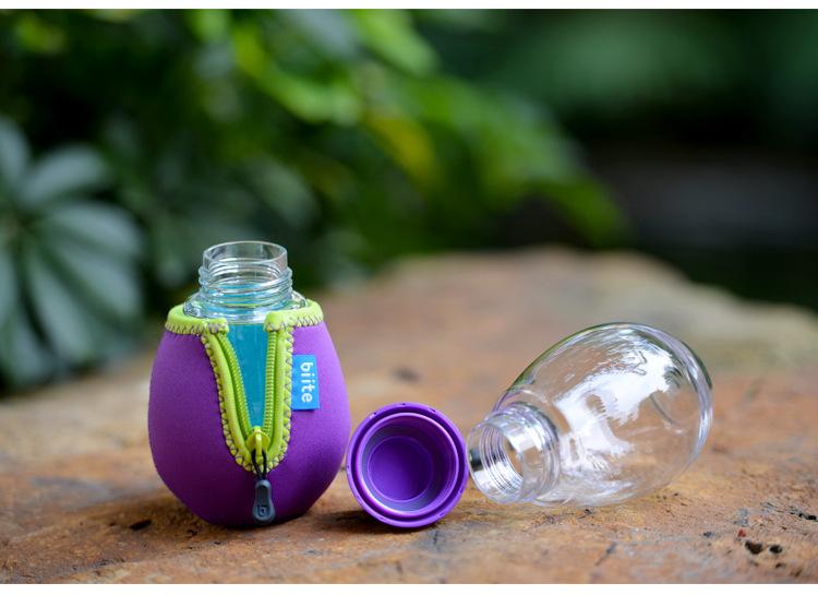 日本女人bi_日本biite专柜同款进口tritan水杯创意防漏便携随手杯