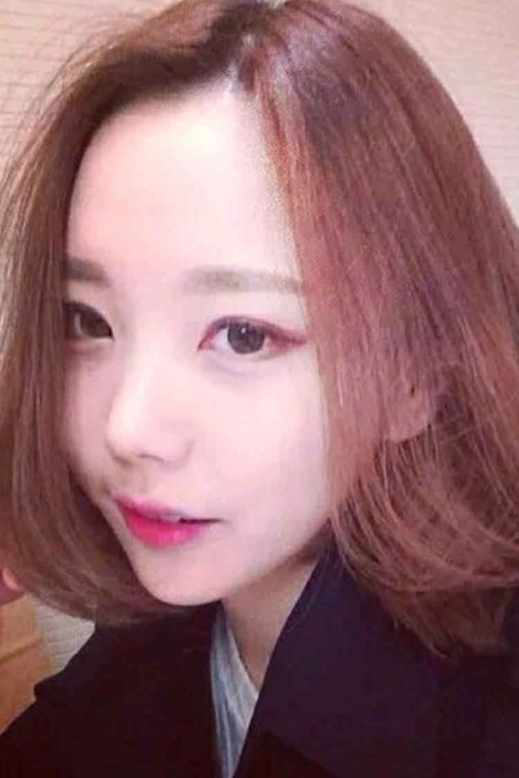 【韩式中分刘海假发女短发内扣波波中长发梨花头微卷