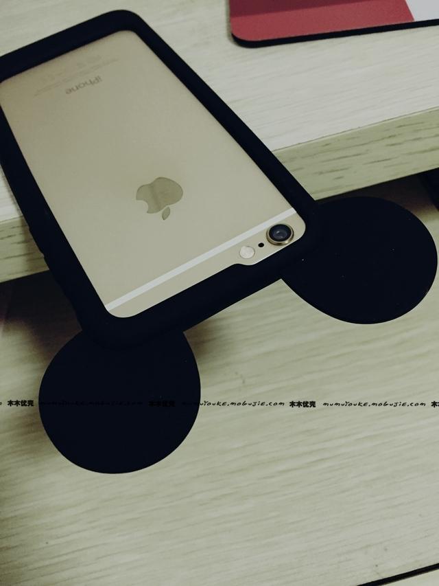 【可爱米奇耳朵边框手机壳】-配饰-3c数码配件