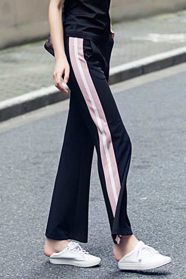 孕妇裤夏季孕妇阔腿裤孕妇装时尚时尚九分裤外穿长裤子运动休闲裤
