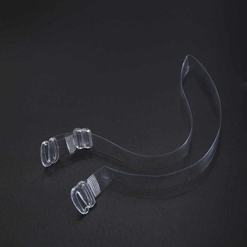 【6对装】  加宽透明塑料肩带隐形肩带文胸带调整型内衣带防滑