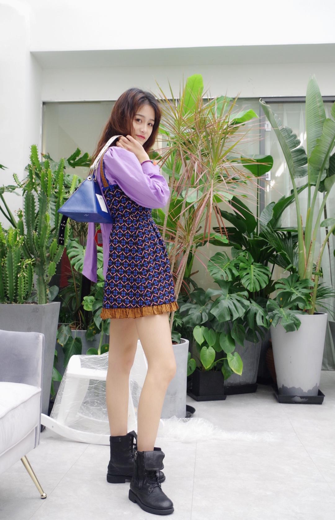 #红到发紫的YOUPPIE3.2上新# 田园风!很好看!非常俏皮显身材!