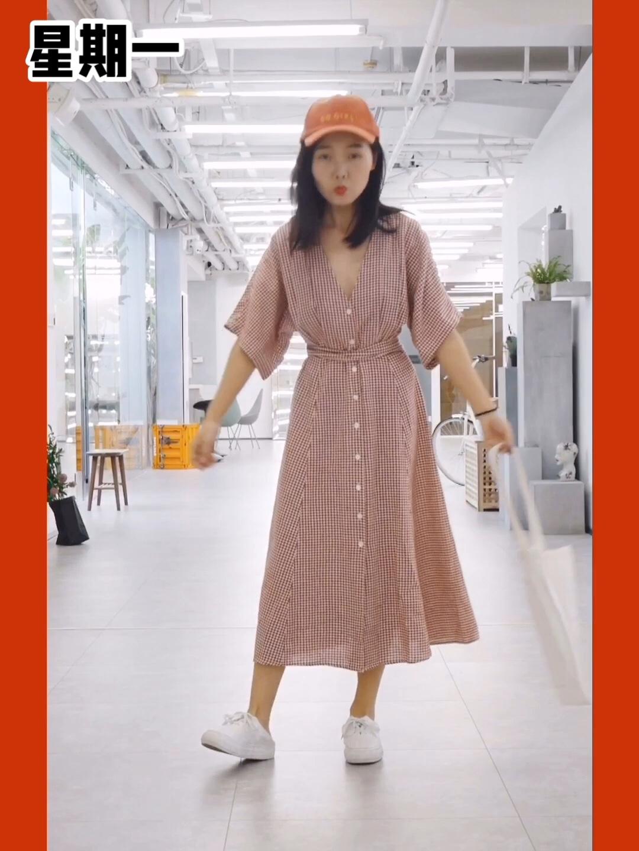 #MOGU STUDIO# 连衣裙合集! 7种日常连衣裙穿搭look 一个星期不重样 显瘦又显高 供小个子参考~ 姐妹们最喜欢哪一身?
