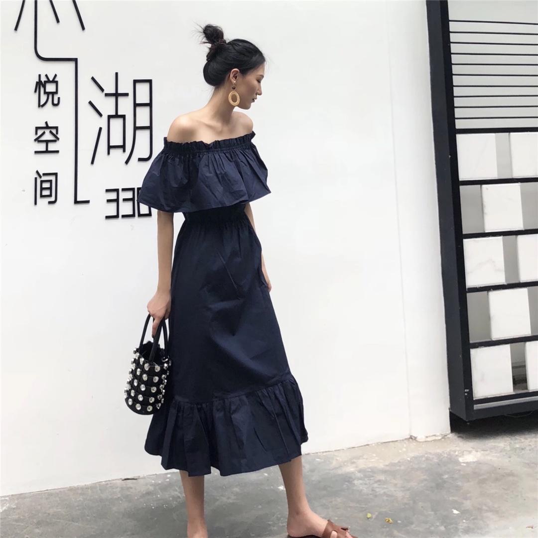 非常适合肩宽的一条裙子👗 显瘦百搭衬衣款#150cm+小粗腿的春天#