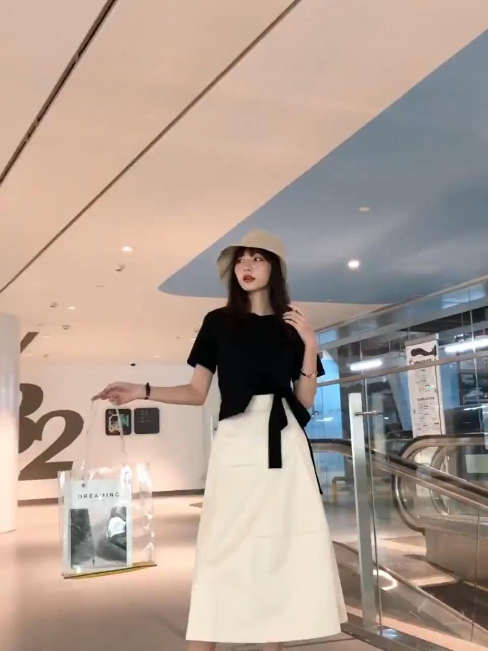#A字裙XT恤,秒增10公分!#