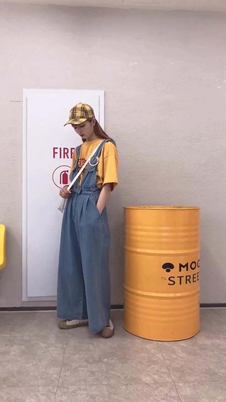 女生日常穿搭 | 皮卡丘的黄和杰尼龟的蓝#不想拥有我这只宠物小精灵吗?#  夏日黄色系穿搭和蓝色系穿搭合集来啦 喜欢哪一套~都是很活力的穿搭