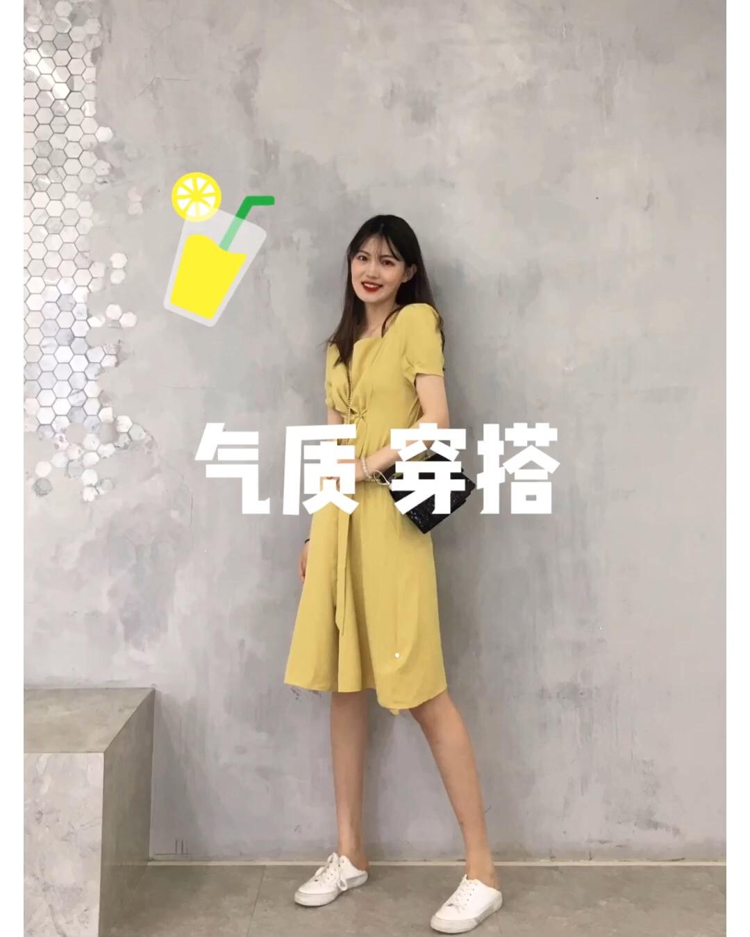 #约会微露肌法则,撩汉必杀!# 连衣裙:宿本 挎包:c&k 🌼🌼🌼