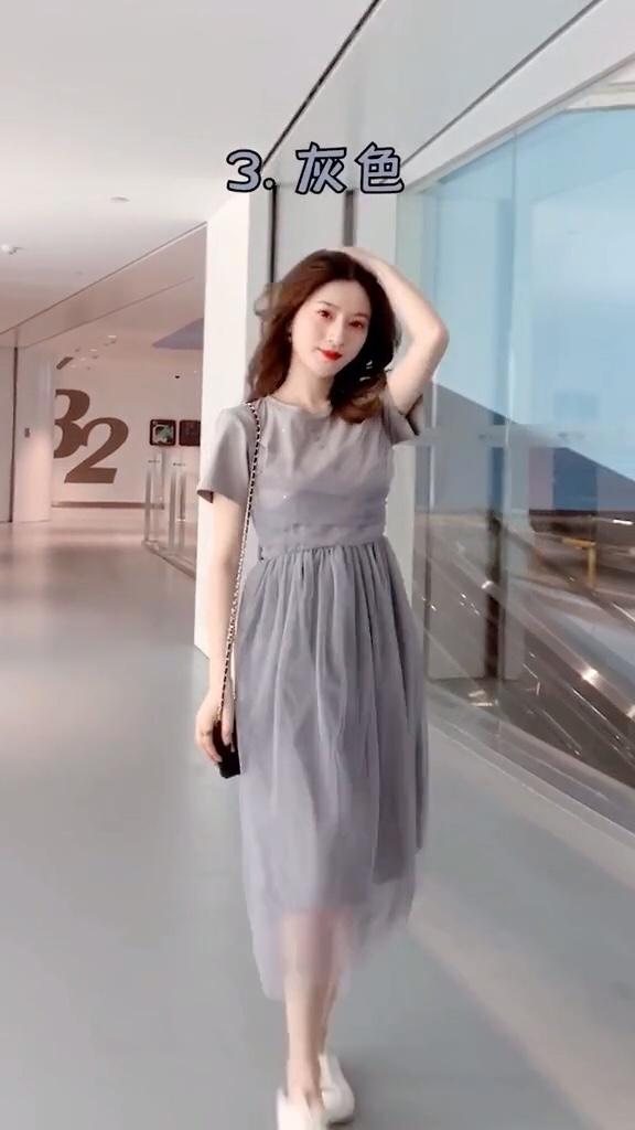 最显白的衣服颜色,有你喜欢的颜色么?#偶像剧季节,女主脱单这么穿!#