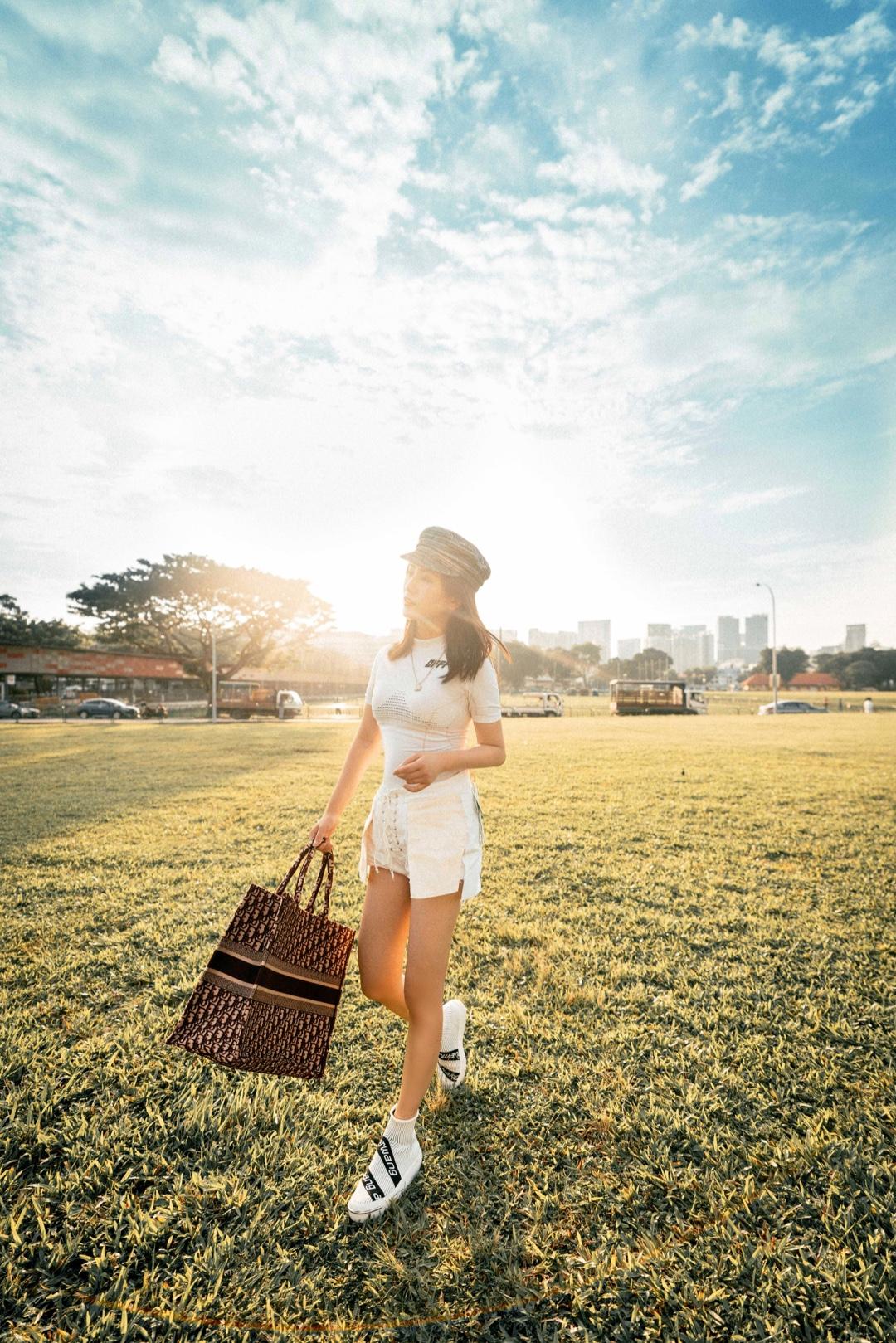 #Nikkislook# 好天气+好心情=一组美美的大片!🌞🌞夏日福利,超唯美的逆光照搞起来~