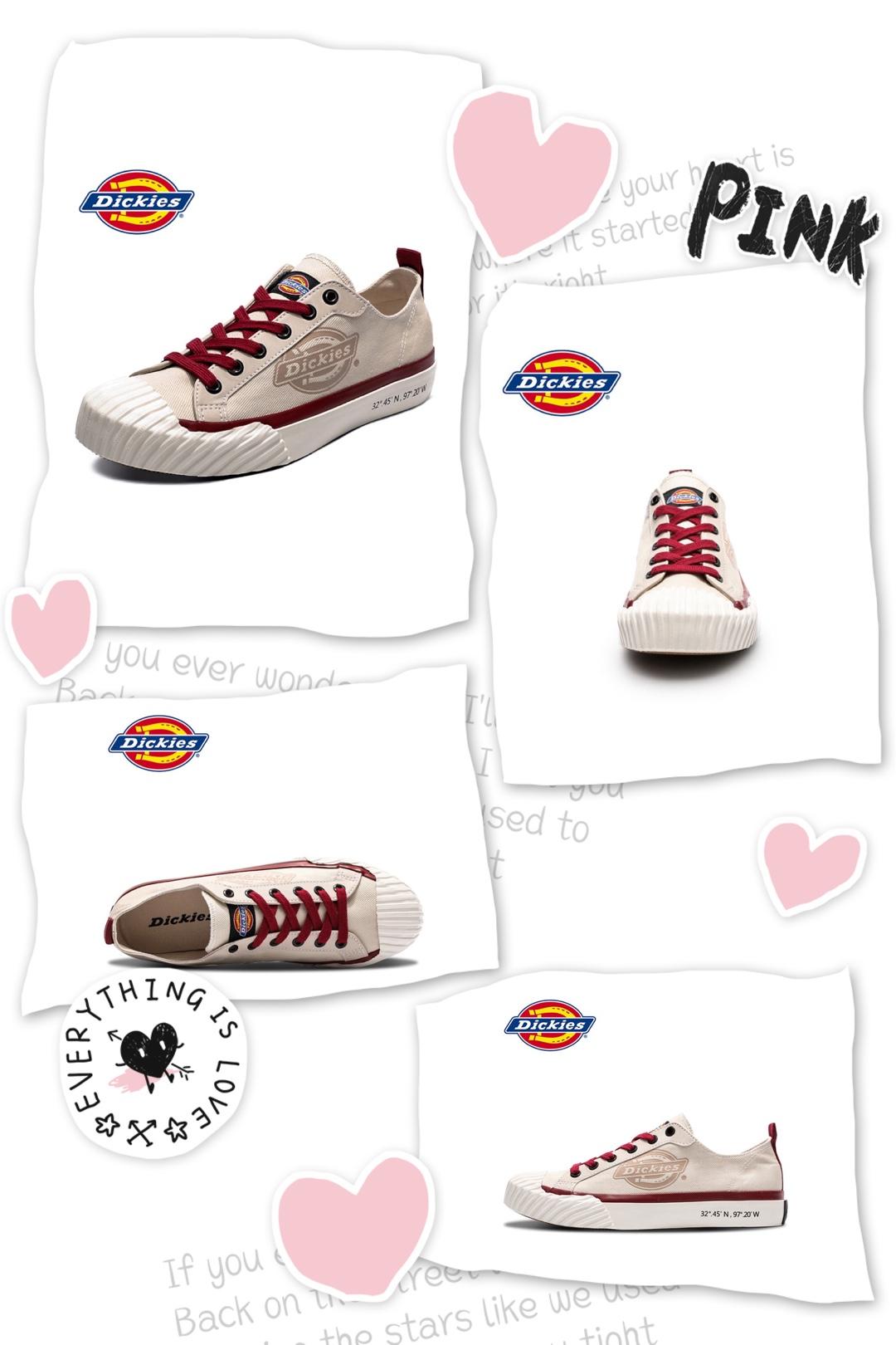 Dickies2019新款运动鞋简直美爆了! 🌈帆布鞋复古港味低帮帆布鞋 型号:191W50LXS15 超喜欢这款港味十足的帆布鞋,还特别的学院风,很有设计感,鞋头的设计也是今年最流行的 🌈学生款百搭红色低帮帆布鞋 型号:191W50LXS16 这款跟第一款是一样的款式,颜色不同,红色也非常好看 🌈透气款情侣帆布鞋 型号:191M50LXS24 这款帆布鞋跟匡威经典款大同小异,Dickies这款加了logo的设计显得与众不同 🌈情侣款高帮帆布鞋 型号:193M50LXS25 高帮款也是非常时髦的,黑白两色各有千秋 🌈红色经典款高帮帆布鞋 型号:191W50LXS01 这款红色设计可以说很用心了,细节感很强,穿出去绝对不会撞款
