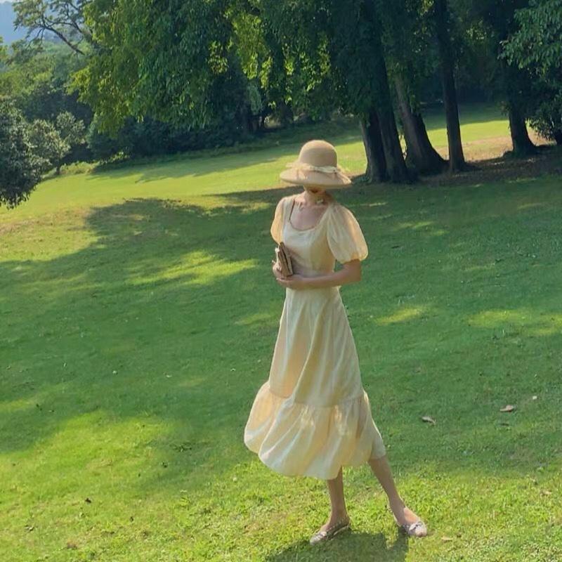 连衣裙分享 超级仙气 遮腿遮肚子,显高,夏季必备❤️#清凉套装:高温降暑穿它呀!#