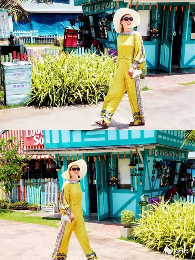 旅行穿搭/美到爆表啦 暑假适合旅行 旅行穿搭是个技术活  旅行应该怎样穿搭呢?  最典型的就是借鉴日本女人的穿搭法: 穿着轻松的颜色、柔软的材质。 快来学我穿 #穿上小碎花,一起走花路吧#