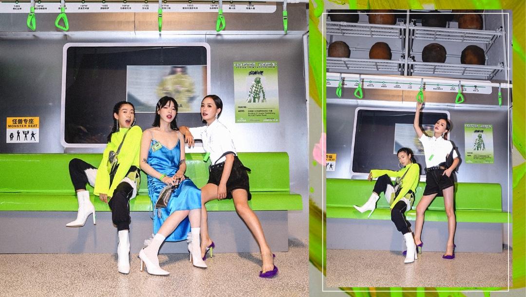 #Ava搭配日记[超话]#今日登场:来自日本的大人物~[奥特曼]——UOOYAA FW 2019上衣&裤子:乌丫UOOYAA 包包:MSGM 高跟鞋:PUMA彪马博主微博/微信公众号/抖音/小红书/Instagram:AvaFoo,Youtube:Ava Foo, b站:IamAvaFoo