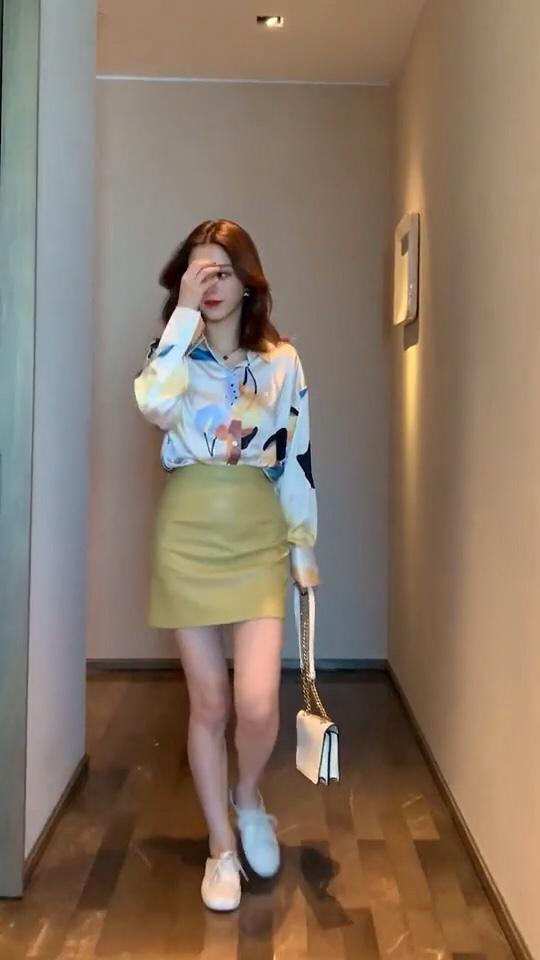 #这条半身裙,专治腿粗~#