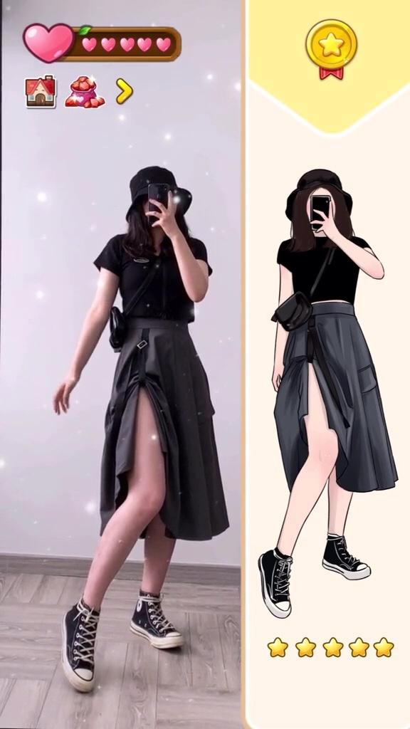 让你印象最深的一款换装小游戏是哪个呀?#90%微胖女生入秋穿这套!#