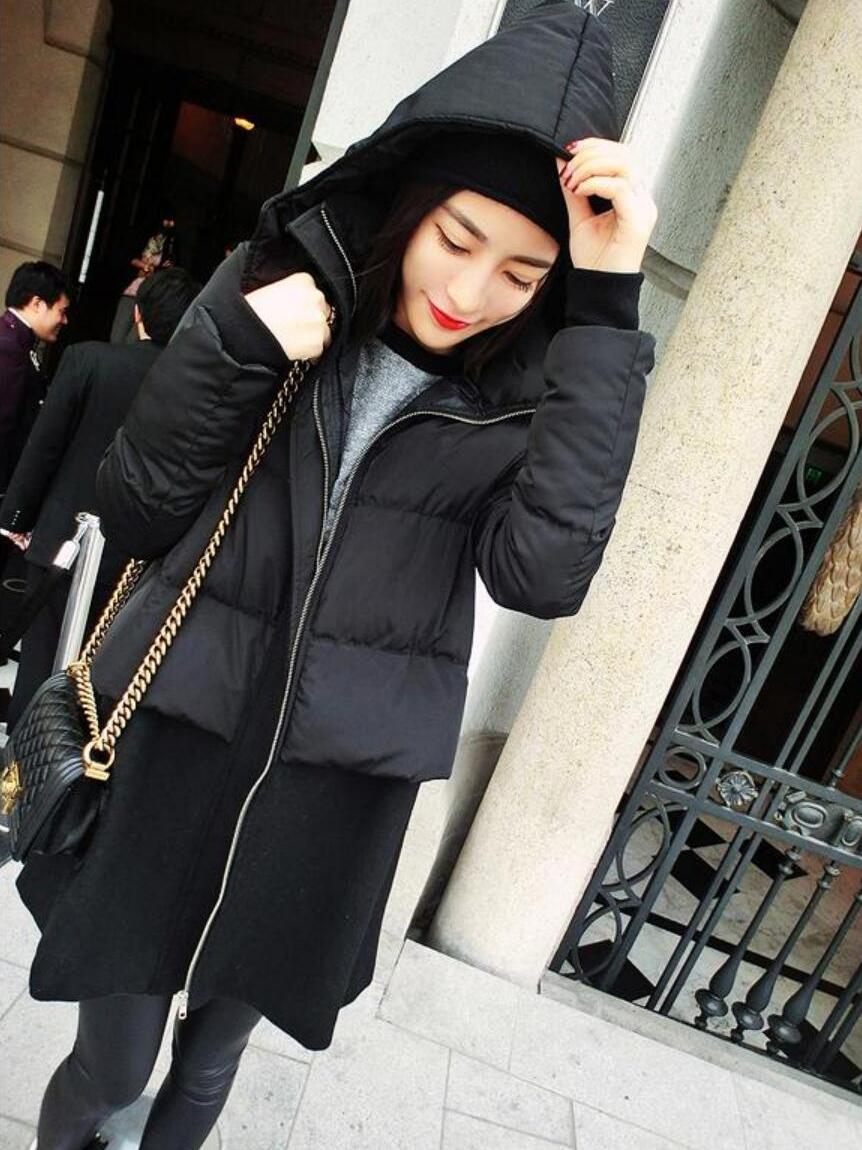 女士棉衣外套女秋冬季韩版新款潮流女生加厚上衣修身休闲百搭女装