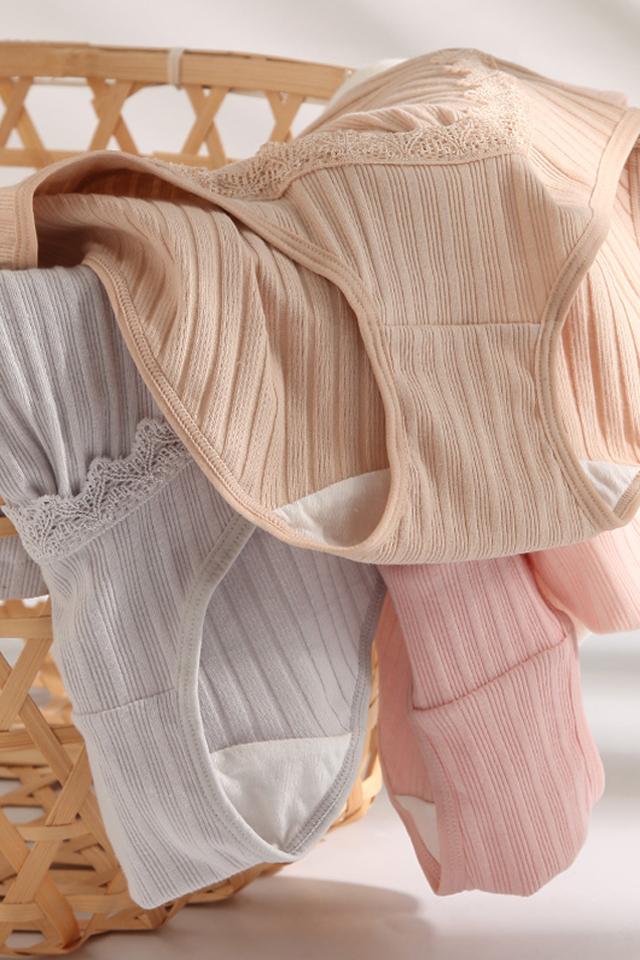 【两条装】孕妇内裤怀孕期托腹高腰月子裤产妇产后孕期可调节内裤