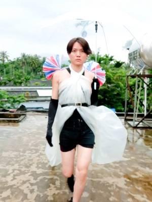 你们那都穿羽绒服了吧?海南没有冬天哈哈哈#龙龙的秀场#