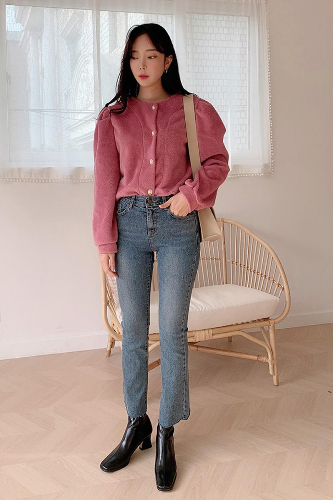 #2020年红色战衣提前备好!#홑단추 저고리, 빈티지 디자인 소녀 감각