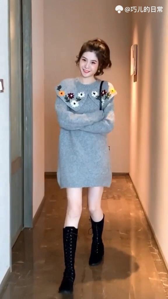 #冬季大长腿穿搭指南#  女生不会搭,再贵的衣服也土掉渣
