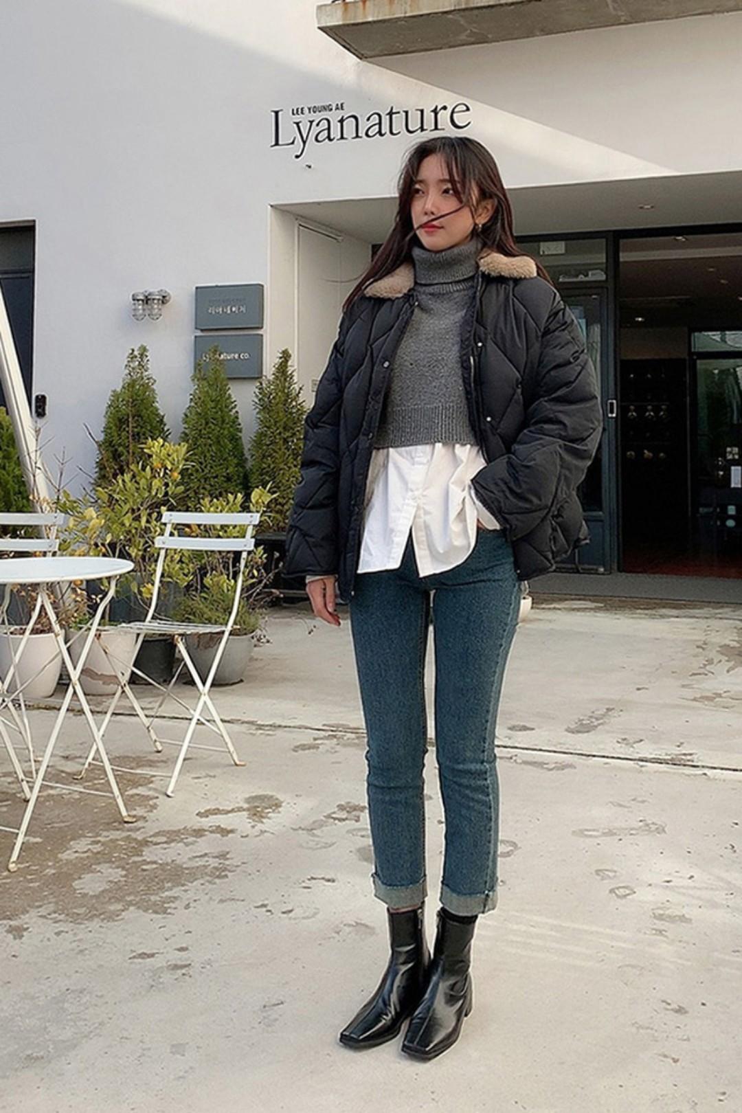 #天冷了,就要把棉被披上身!#날씨가 추워지면 두꺼운 실물을 보온하는 솜을 상신에 걸쳐야 한다!