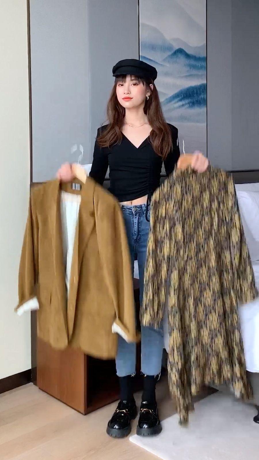西装外套配连衣裙#vlog我的日常#