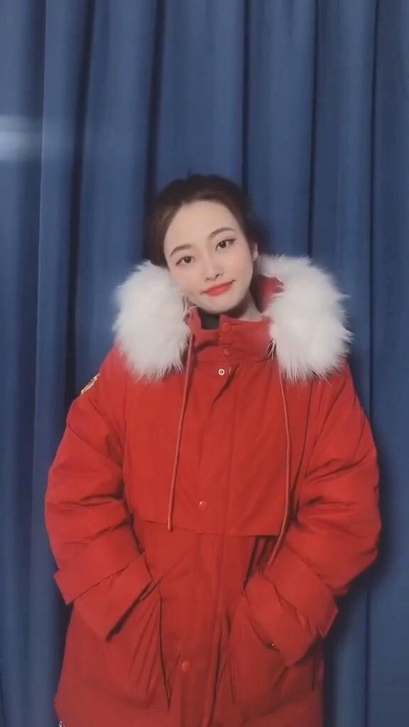 #冬季最潮女装搭配#  今天安排外套!年货跟我dou回家 微胖女生 #2020一起加油