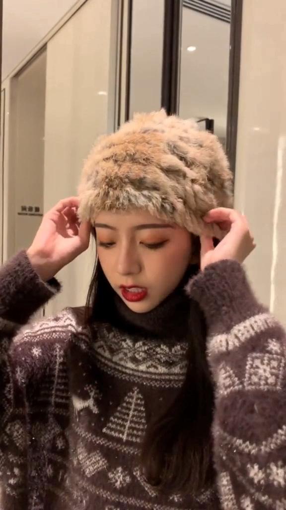 #韩系少女主播的穿搭宝典#