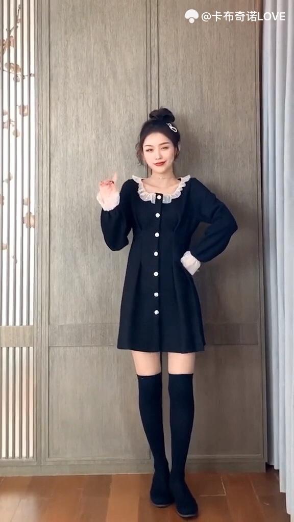 适合聚会穿的小黑裙,一定要买这几套 #2020入手的第一件新衣#