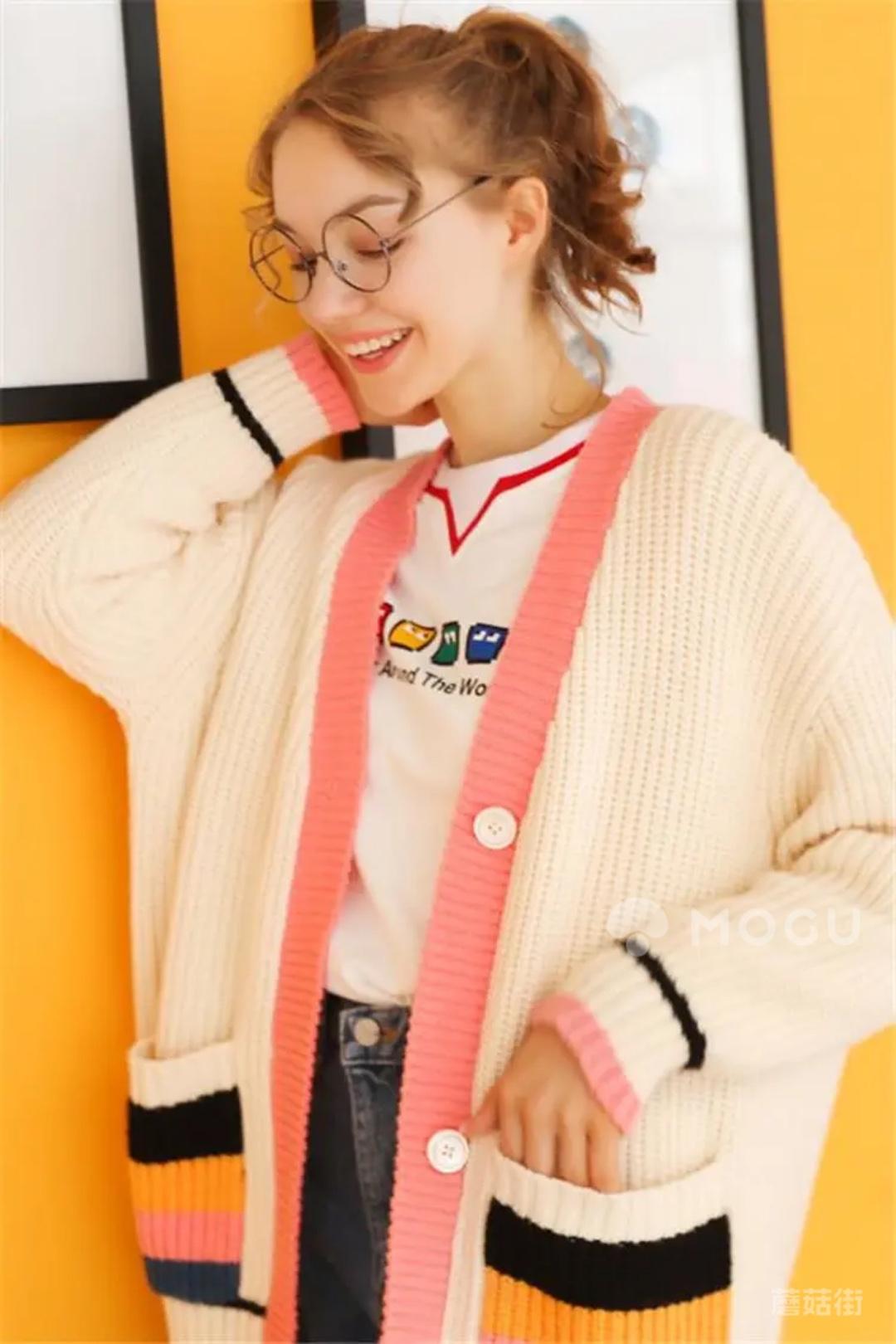 少女系毛衣 #什么值得买#