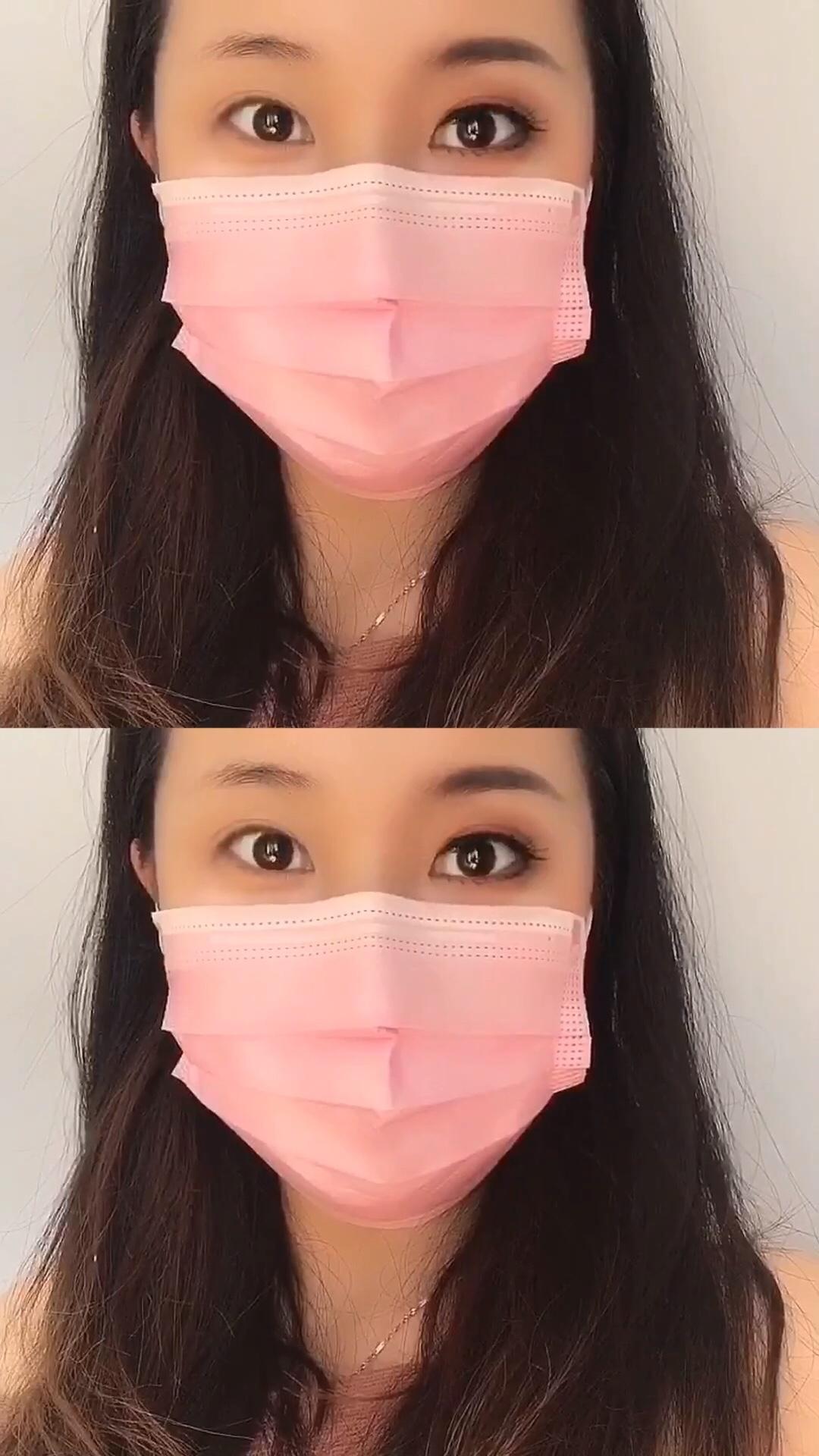 无美颜 无滤镜 戴口罩也能做最靓的仔! 跟着舒舒直播间学化妆吧! #精致眼妆是对口罩的尊重#