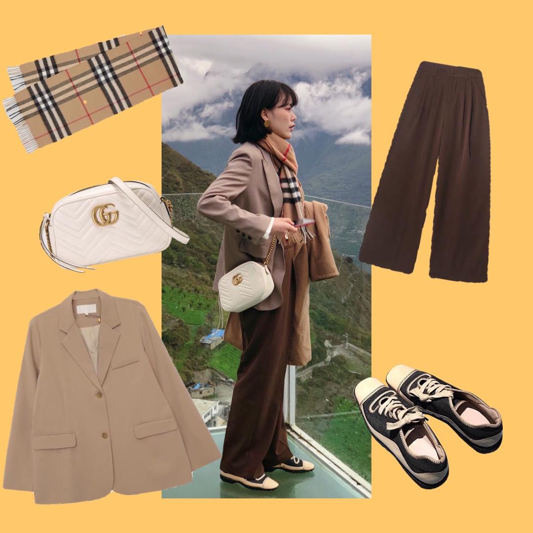 高个子女生穿搭风格 #筷子穿搭拍大片#