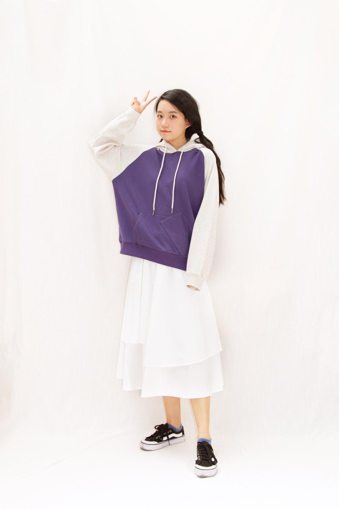 蓝莓紫太可爱啦! #全民搭配挑战赛#