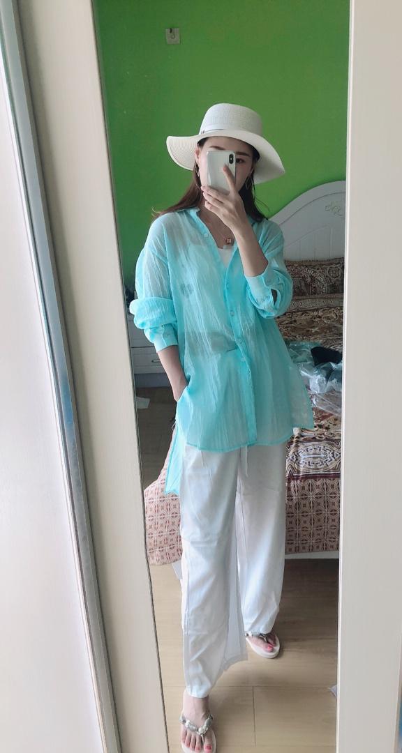 蓝色很上镜 出去玩拍拍照 很好看 #赵哥LL粉丝晒单#