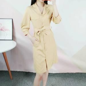 衬衫收腰连衣裙喜欢哪个颜色? #我的穿搭多少钱#