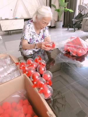 90岁的老外婆都派出来包双喜蛋啦! 希望橘子家所有的小姐姐都 儿女双全 好事成双 #橘子mii粉丝晒单#